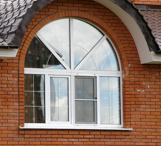 Как сделать из кирпича арочный проем для окна