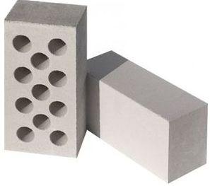 Кирпич силикатный — белый, цветной. Строительный и лицевой.