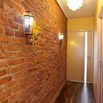 Применение кирпичной кладки в интерьере жилых комнат