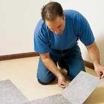 Способы укладки плитки ПВХ